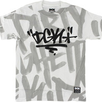 DGK Crushed Tee Small White