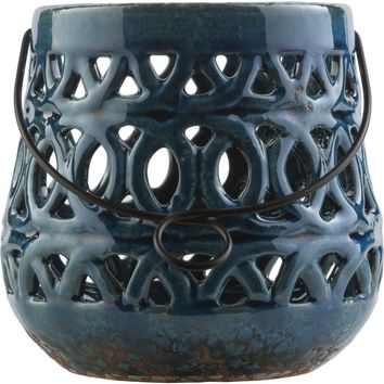Killian Contemporary Lantern Navy, Teal