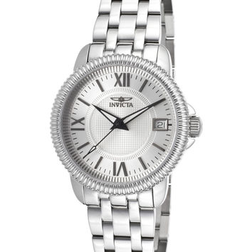 Invicta Women's Specialty Push Button Watch, 32mm - Silver