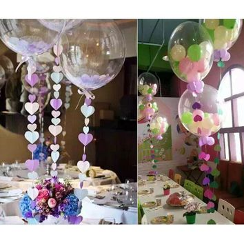 10 Pcs Large 24 Inch DIY Confetti Balloon Transparent Foil Balloons Giant Clear Helium Air Globo Wedding Birthday Party Decor