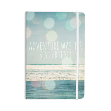 "Susannah Tucker ""Adventure Was Her Best Friend"" Blue White Everything Notebook"