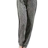 Trendy Knit Drawstring Jogger Pants