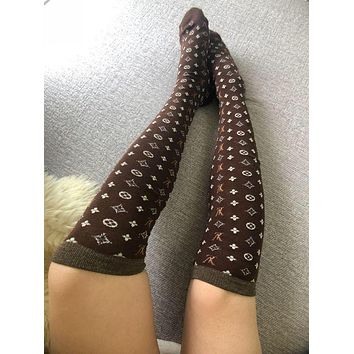 Louis Vuitton LV Cotton Long Socks