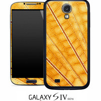 Gold Wing Skin for the Samsung Galaxy S4, S3, S2, Galaxy Note 1 or 2