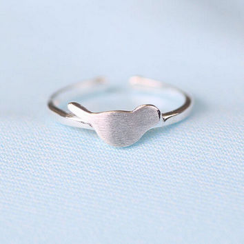 Jewelry Shiny Stylish New Arrival Gift 925 Silver Simple Design Korean Accessory Ring [7652916103]