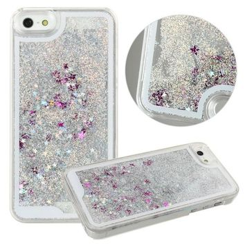 Bling Glitter Stars Fantasy Shiny Case Cover For iPhone 5 5s