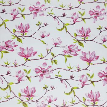 Floral Any-Occassion Gift Wrap Wrapping Paper, Magnolia (8 Rolls 5ft x 30in)