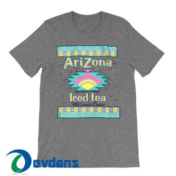 Arizona Iced Tea T Shirt Women And Men Size S To 3XL