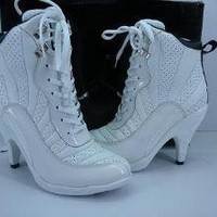 jordan high shoes by mili on Sense of Fashion