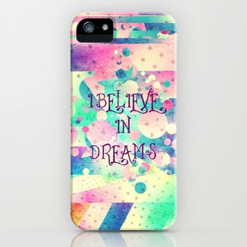 I believe in dreams - for iphone iPhone & iPod Case by Simone Morana Cyla