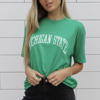 """Michigan State"" Vintage Tee"