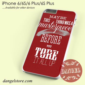 Taylor Swift Lyrics Phone case for iPhone 6/6s/6 Plus/6S plus