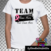 Breast Cancer Personalize Shirts (Add Team Name and Cause(