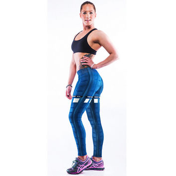 Hight Waist Casual Sports Yoga Elastic Pants + Free Shipping
