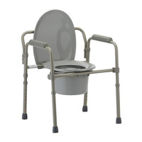 Folding Bedside Commode Chair | Nova #8700-R