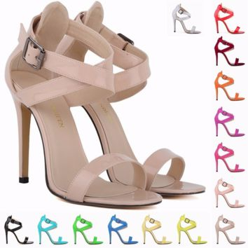 Trendy Cross Strap Sandal Style High Heels