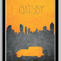 The Great Gatsby Movie Poster - 11x17