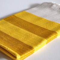 Cradle Blanket - Organic Yellows