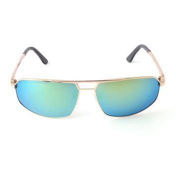 New Products Italy design Spectacle Frame Color Changing Blue Sunglasses for Men Driving Glasses