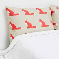Anorak Fox Pillow Case Set - Urban Outfitters