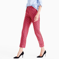 Collection Party pj pant in Ratti® hibiscus herringbone print