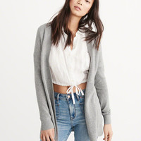 Womens Stitched Duster Cardigan | Womens Tops | Abercrombie.com