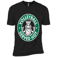 Volleyball Served Hot T-Shirt - Great Volleyball Player Tee shirt