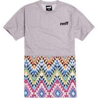 Neff Furyous T-Shirt - Mens Tee - Grey