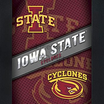 Iowa State Cyclones | 3D Art | By PFF | Framed | 3-D | Lenticular Artwork | NCAA Licensed
