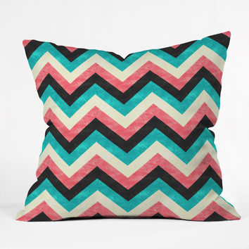 Jacqueline Maldonado Chevron Bold Throw Pillow