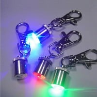 2016  Signal lamp led luminous dog pendant luminous dog tag pet charm dog light stick PET ACCESSORIES New