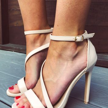 Heart Like Mine Heels: Nude