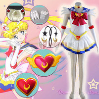 Another Me Anime Sailor Moon Tsukino Usagi  Cosplay Costume Christmas Sale!