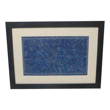 Pre-owned 18th C. Celestial Star Map