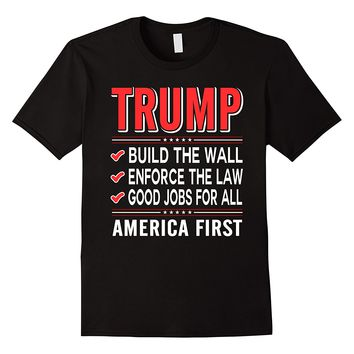 Trump American First T-Shirt