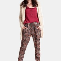 Wild For You Printed Pants