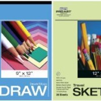 Pro Art Drawing and Sketching Paper Value Pack, Hard Bound Pad