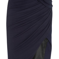 Altuzarra - Wrap-effect stretch-jersey crepe skirt