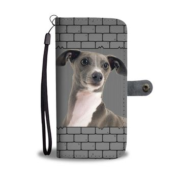 Italian Greyhound Wallet Case-Free Shipping