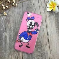 Skeleton Donald Duck for iPhone 6 Models