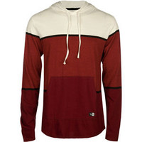Rip Curl Style Points Mens Lightweight Hoodie Burgundy  In Sizes