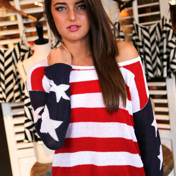 Sweet Land of Liberty {Sweater}