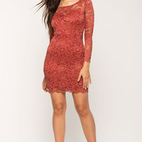Sweet Lady Lace Bodycon Dress