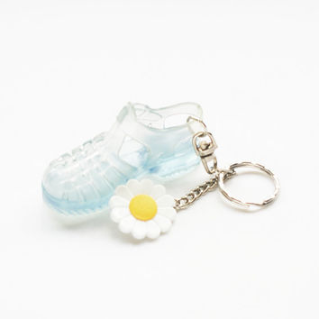 Jelly Shoe Keychain