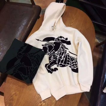 Burberry Woman Men Fashion Hoodie Top Sweater Pullover-1