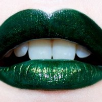 Serpentina Dark Green Lipstick