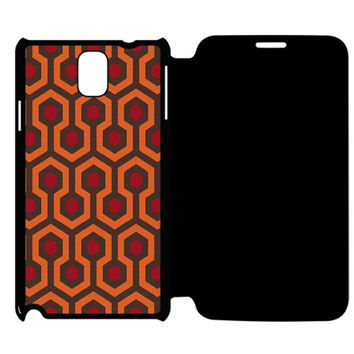 The Shining Carpet Samsung Galaxy Note 4 Flip Case Cover