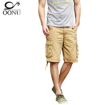 Men Camouflage Casual Cargo Shorts