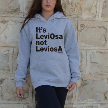 It's Leviosa not Leviosa Harry Potter Hoodies