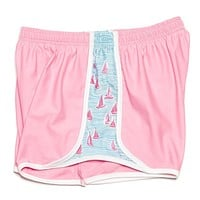 Sailboat Shorts in Pink by Krass & Co.